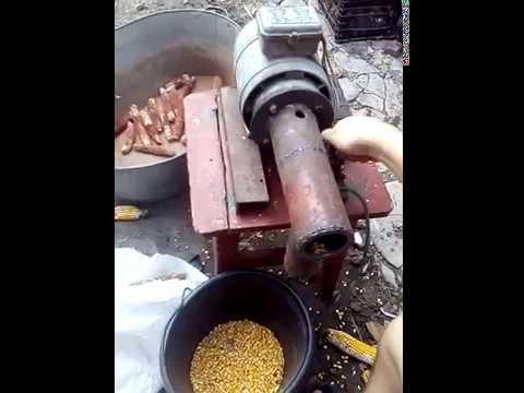 Дробилка для кукурузы своими руками видео конусная дробилка в Муром