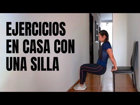 Ejercicios Que Puedes Hacer Desde Casa con Una Silla | Ser Fitness 💪
