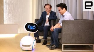 Get more info on Zenbo here: http://www.engadget.com/2016/06/02/asus-zenbo-hands-on/ Subscribe to Engadget on YouTube: http://engt.co/subscribe Get ...