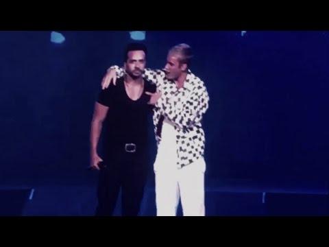 Justin Bieber y Luis Fonsi cantan 'Despacito' (En Vivo)
