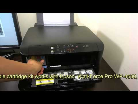Continuous Ink System for EPSON Workforce Pro WP 4540 CIS CISS with ARC Chip