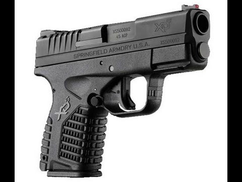 Springfield XDs (Review / Range Time) - .45 ACP Concealed Carry ...