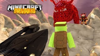 The fire nation KILL LIGHTFURY FROST!? Minecraft Dragons