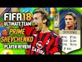 FIFA 18 PRIME SHEVCHENKO (91) *ICON* PLAYER REVIEW! FIFA 18 ULTIMATE TEAM!