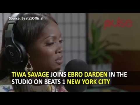 (Video) Tiwa Savage Joins Ebro Darden In The Studio On Beats 1 New York City - Tiwa Savage - mp4-download