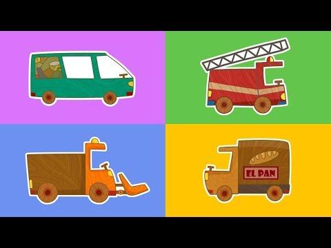 Coches De Juguete Dibujos Animados De Carros Y Coches Grandes Kak