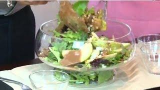 Go Curvy - Pear Gorgonzola Salad
