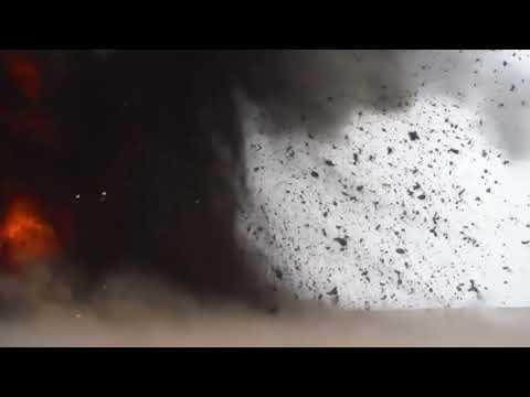 точное попадание ракеты