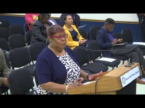 City of South Fulton City Council Meeting - August 8, 2017