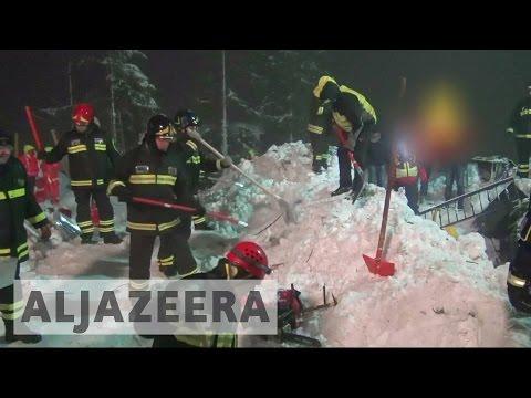 Survivors found in avalanche-hit Italian hotel