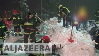 Survivors found in avalanche hit Italian hotel