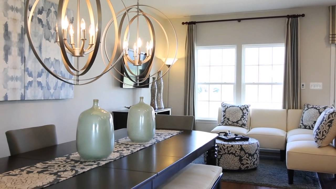 ryan homes strauss model home tour youtube. Black Bedroom Furniture Sets. Home Design Ideas