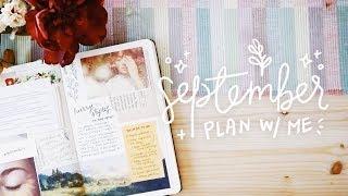 september plan with me // cheyenne barton