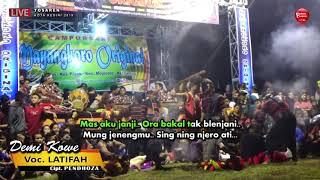 DEMI KOWE Cover Voc LATIFAH == MAYANGKORO ORIGINAL Live TOSAREN 2019