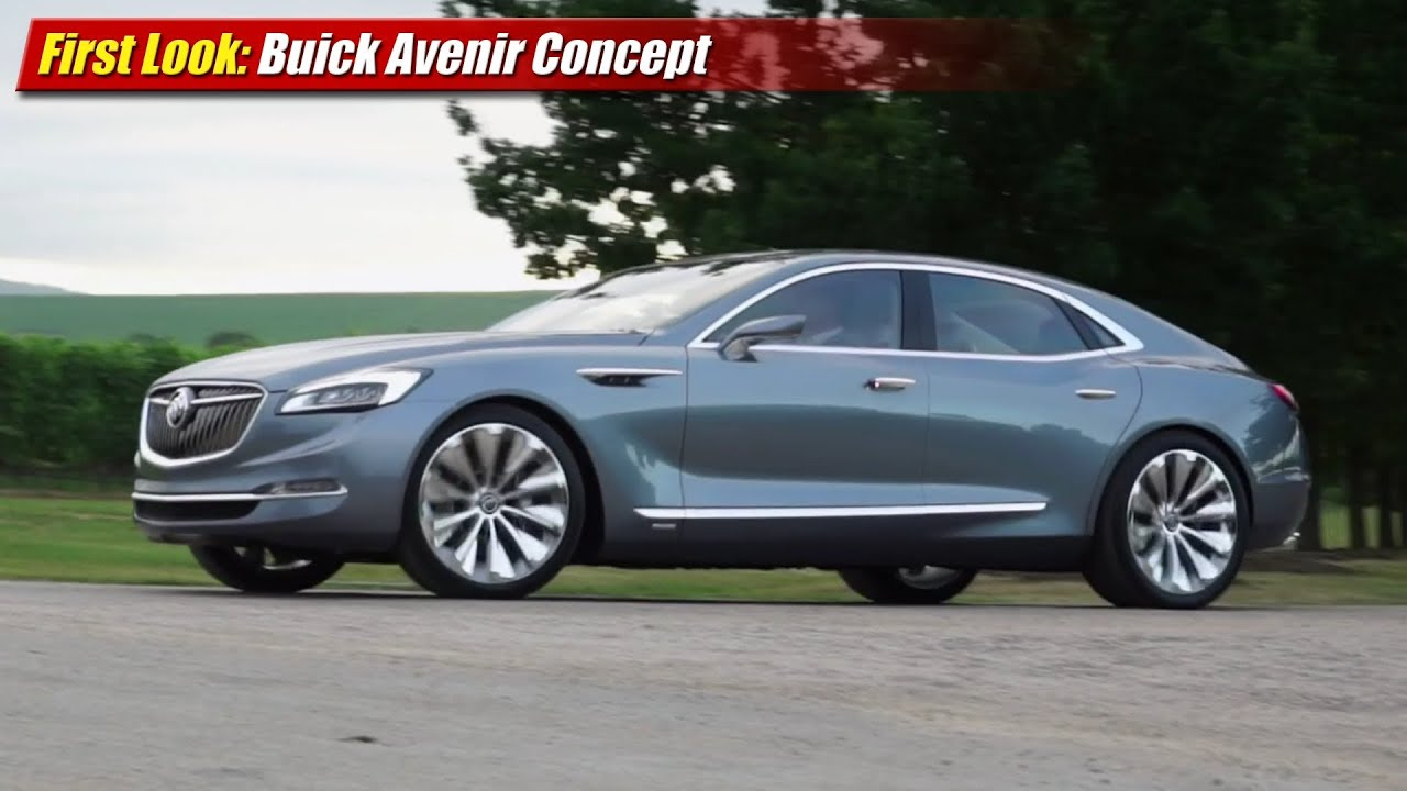 First Look: Buick Avenir Concept - YouTube
