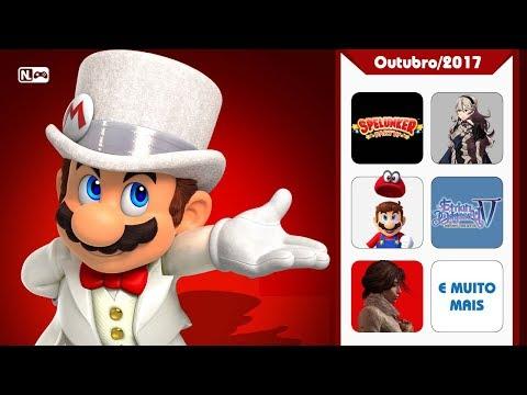 Take My Money - Super Mario Odyssey, Fire Emblem Warriors e mais! (Lançamentos de 16/10 a 31/10) |