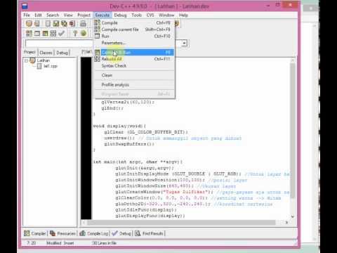 Cara Menggunakan Clrscr Pada Dev C++