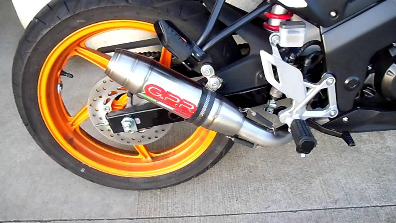 Honda Cbr 125 2011 Scarico Completo Full System Gpr