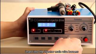 CR-C CR800 common rail injector tester