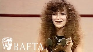 Julie Walters wins her first BAFTA in 1984