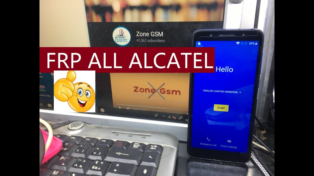 REMOVE FRP AAlcatel 1X (5059D) ANDROID 8 1 0 / FRP ALL ALCATEL