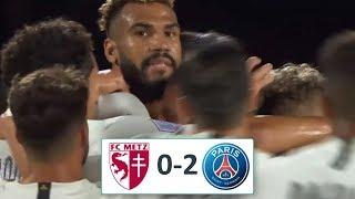 метц - ПСЖ 0-2 - Обзор Матча Чемпионат Франции 30/08/2019 HD