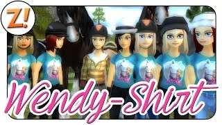 Star Stable [SSO]: Wendy T-Shirt für Star Stable ✿ Info-Video ✿