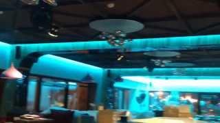 Интерьерная светодиодная подсветка в кафе(, 2014-02-06T23:16:52.000Z)