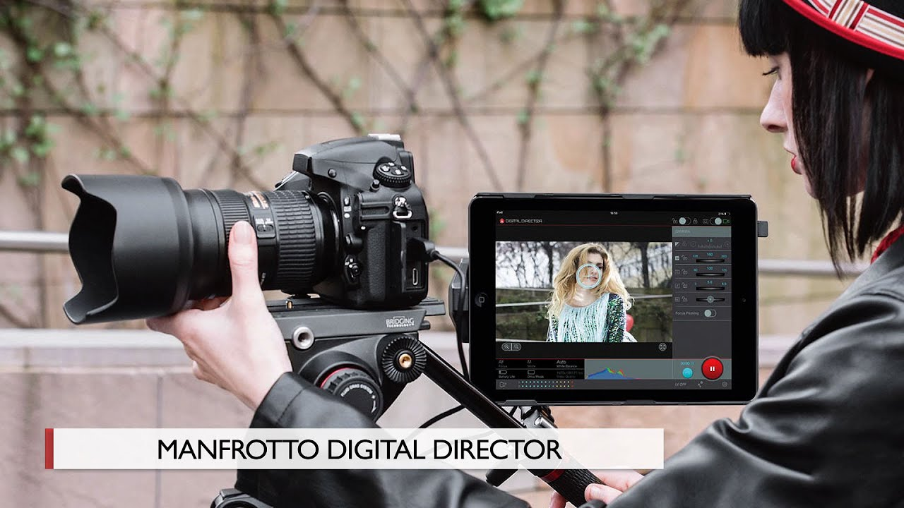 First Look: Manfrotto | Digital Director - YouTube
