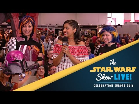 Tiya Sircar   Star Wars Celebration Europe 2016