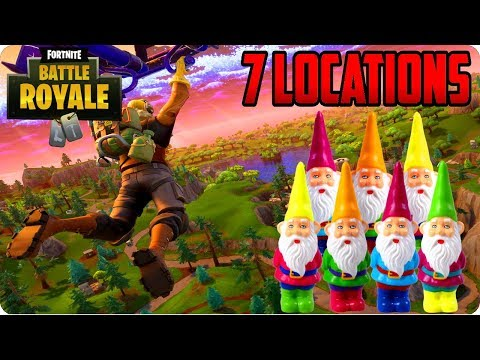 Fortnite: Search The Hidden Gnome In Different Named Locations (7 Locations Found)