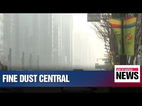 S. Korea in record fifth day of emergency air pollution measures amid thick blanket of fine dust