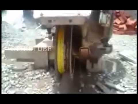 Modern engineering by a construction worker using his LML