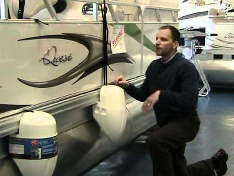 Pontoon Boat Fenders At Peters Marine Service Youtube