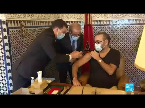 Morocco's king kicks off country's virus vaccination drive