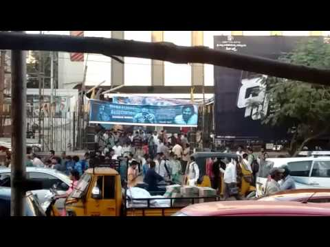 Dhruva release day in #Sandhya hyd