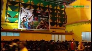 Aksi Suporter PSMS Medan vs PBR Bekasi