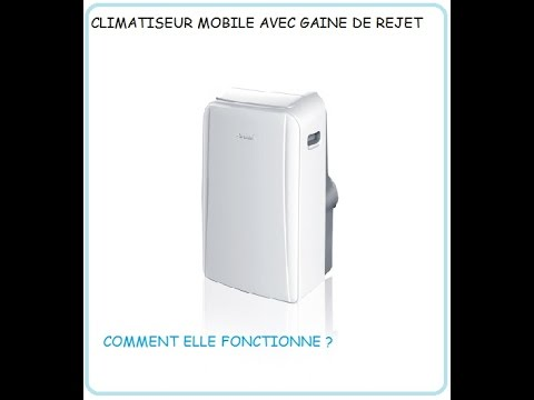 Climatiseur Mobile Monobloc 3 5 Kw Airwell Maf12 Youtube