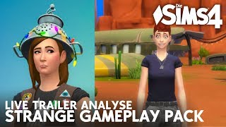 TRAILER Analyse LIVE Die Sims 4 StrangerVille Gameplay-Pack