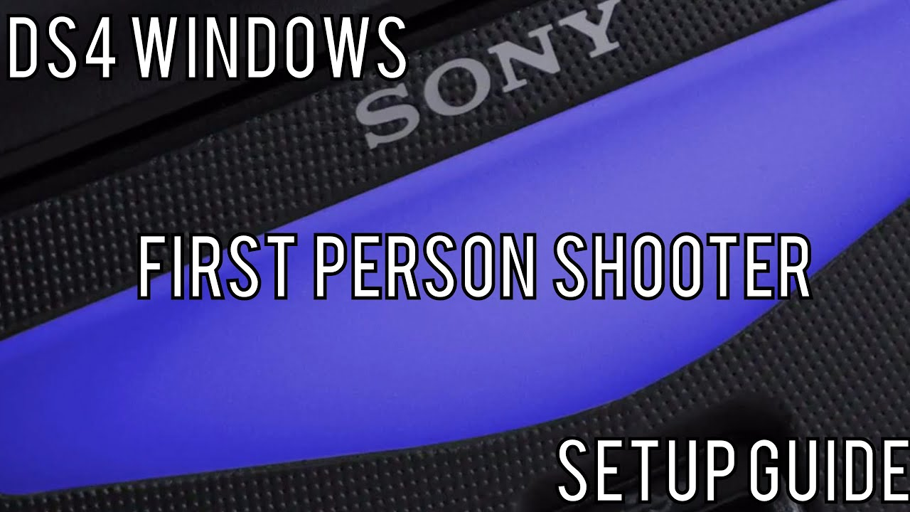 setting up ds4 windows