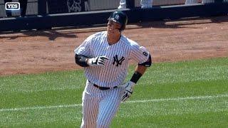 TB@NYY: Austin, Judge shine in MLB debuts