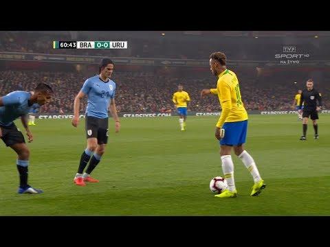 Neymar Jr vs Uruguay | 2018 HD 1080i