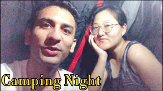Part 2 || Our camping night || first camping with boyfriend @Legions Life
