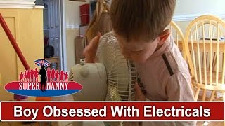 4yr Old Has 'Dangerous Obsession' With Stealing Electricals | Supernanny