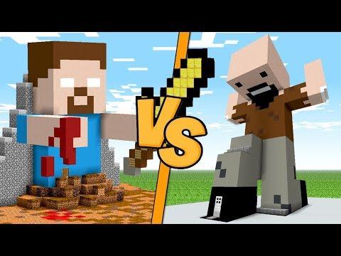 CASA HEROBRINE VS CASA NOTCH - Minecraft ITA