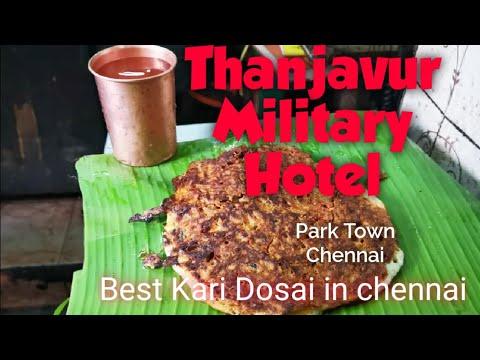 thanjavur-military-hotel-chennai- -kattayan-chettiyar-mess- -best-kari-dosai- -tamil-review- 