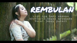 Gambar cover REMBULAN (ciptaan IPA HADI SASONO) cover ARYANADA NGAPAK CILACAP feat JESSY PUTERI