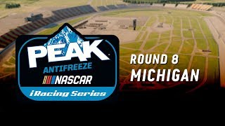NASCAR PEAK Antifreeze iRacing Series | Round 8 at Michigan