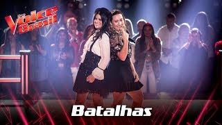 Ally e Micaella Marinho cantam 'Beat It' nas Batalhas - The Voice Brasil   7ª Temporada