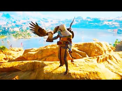 ASSASSIN'S CREED ORIGINS 122 Minutes of AWESOME Gameplay Demo (PS4 XBOX ONE PC) Walkthrough 2017